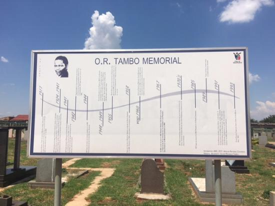 Benoni, South Africa: A history line of Oliver Tambo