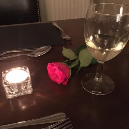 Appleton le Moors, UK: Lovely touch for valentines