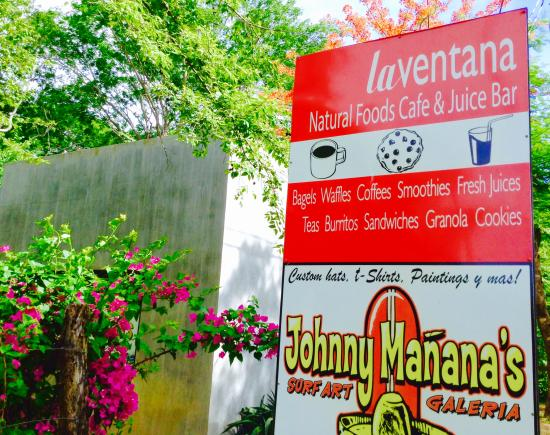 La Ventana features the artwork of Johnny Manana