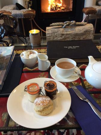 St Mawes, UK: Cornish Afternoon Tea