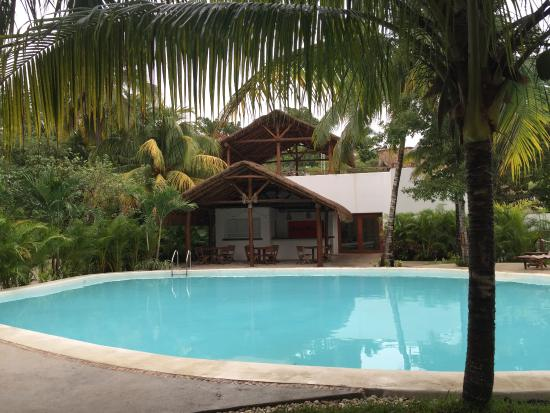 Alberca picture of rancho encantado bacalar tripadvisor for Villas bacalar
