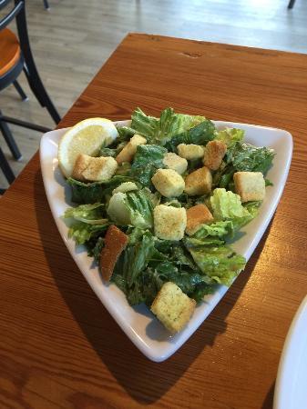 Marion, MA: side caesar salad