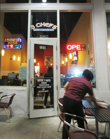 3 Chef's: Storefront Asian Food