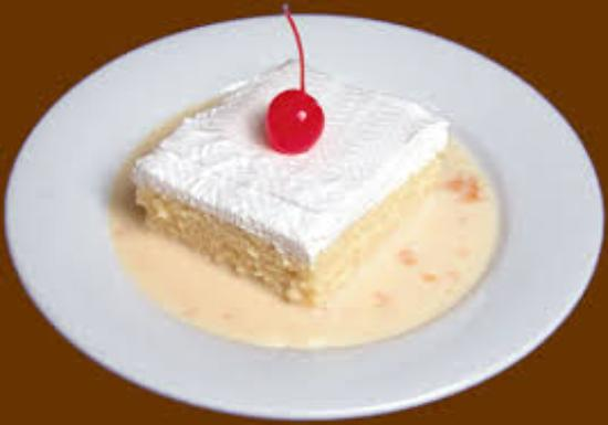 Restaurante Rainbow Village: Tres Leches