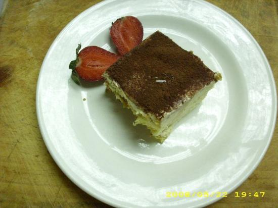 Restaurante Rainbow Village: Tiramisu