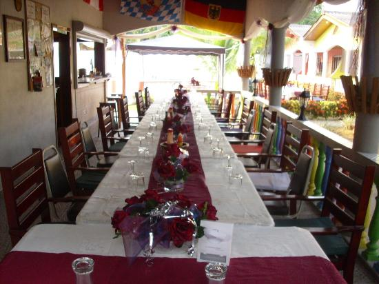 Restaurante Rainbow Village: Wedding Decoration