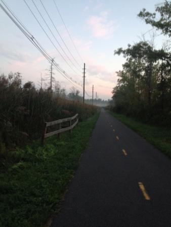 ‪‪Independence Greenway Bike Route‬: Sunrise walk‬