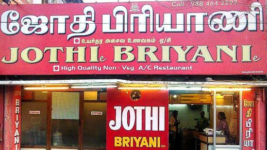 Jothi Biriyani Stall