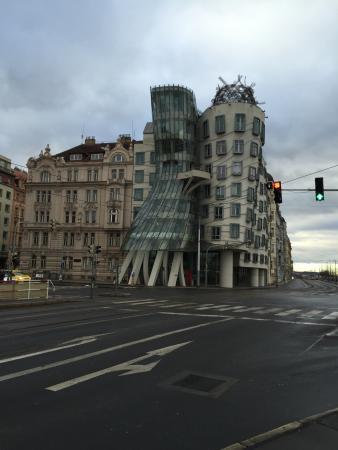 Prague, Czech Republic: Dancing Building