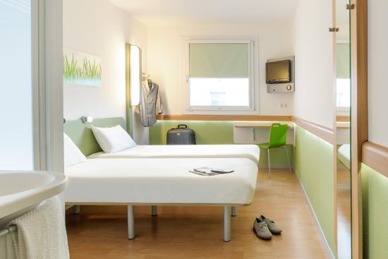 Ibis budget Hotel Hamburg City Ost: Twinzimmer mit 2 einzelnen Betten