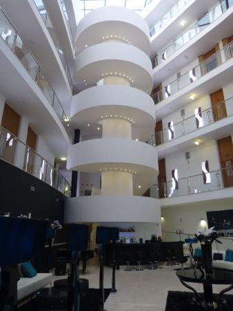 The centre atrium