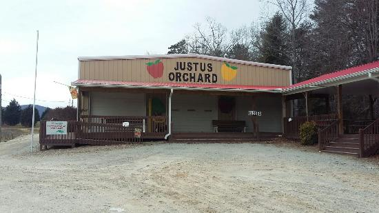 Justus Orchard: They said they were open and I drove all the way here, :(