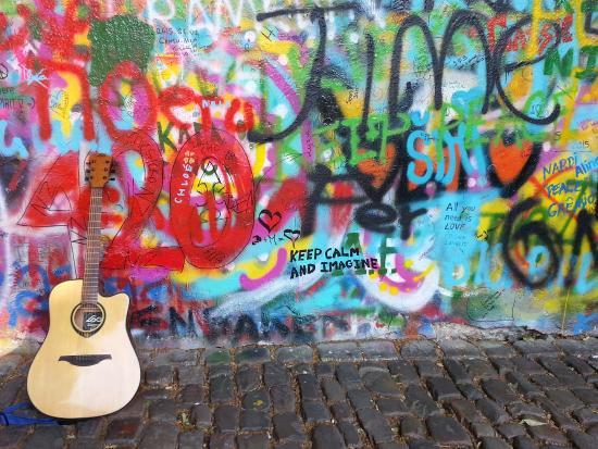 Prague, Czech Republic: John Lennon Wall