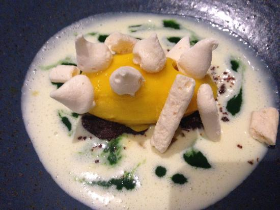 Mango Sorbet With Parsley And White Chocolate Dessert Picture Of - Une cuisine en ville bordeaux