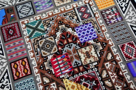 cameron trading post restaurant beautiful native american rugs
