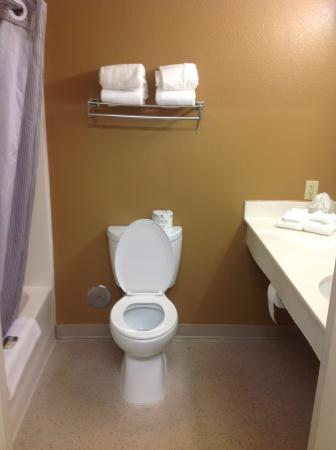 Extended Stay America - Dayton - North: Bathroom