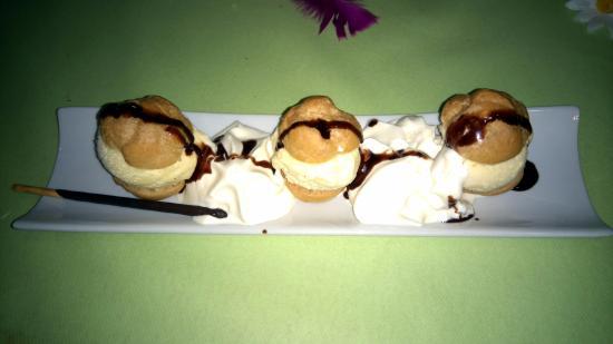 Roussent, France: dessert