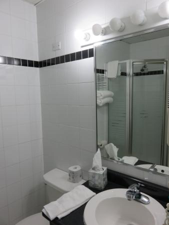Hotel Milano: Bathroom with Shower Stall