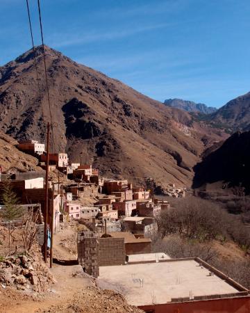 Trekking Morocco Mountains: Imlil valley