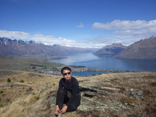 Osias Lim in Queenstown, New Zealand