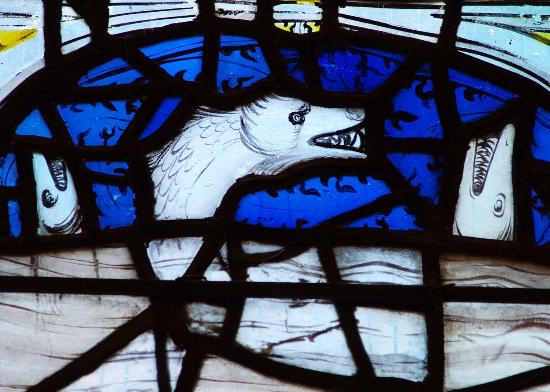 All Saints Church : End of the world Sea Monsters!