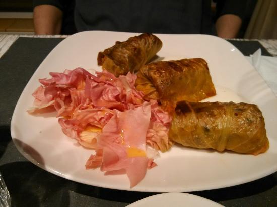 Omelette con radicchio tardivo e gorgonzola foto di - Osteria di fuori porta padova ...