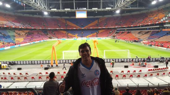 Amsterdam Arena A Bela Arena Amsterdam E O Belo Manto Sagrado
