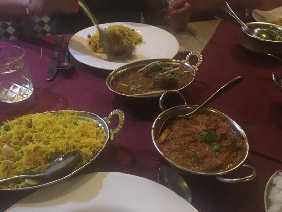 Alibaba Tandoori & Curry Restaurant: Fantastic food, fantastic service ...