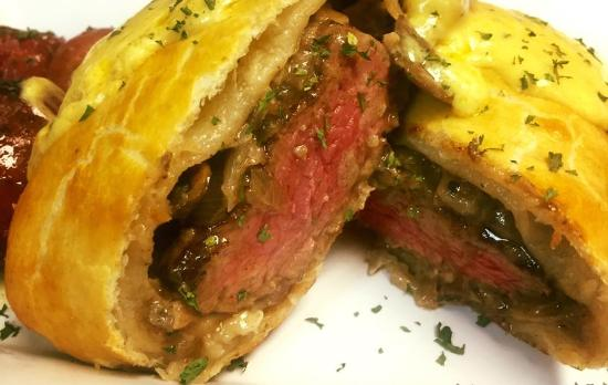 Central Park Family Restaurant: Melt in Your Mouth Beef Wellington