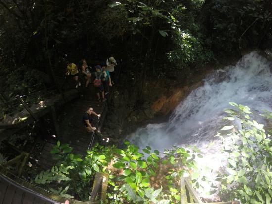 Bodoquena, MS: Cachoeira do Buraco do Macaco
