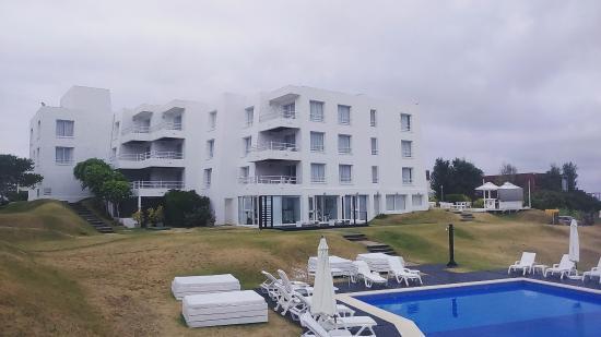 Las Olas Resort Hotel Punta Del Este: Área da Piscina