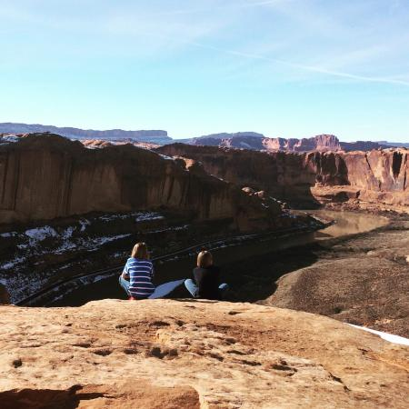 we fled winter for moab to see red rock sun and snow with the rh tripadvisor com