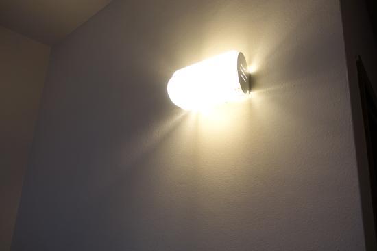 Illuminazione della camera foto di hotel iride milano tripadvisor