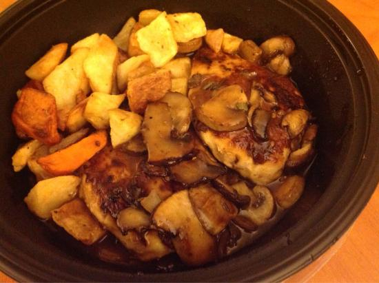olive garden chicken marsala with roasted potatoes - Olive Garden Lakeland Fl