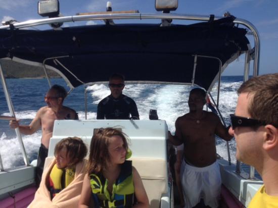 bahía de Simpson, St. Maarten: Dario and Jose