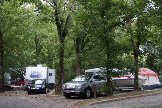 Russell Springs, KY: Kendall Recreation Area Campground