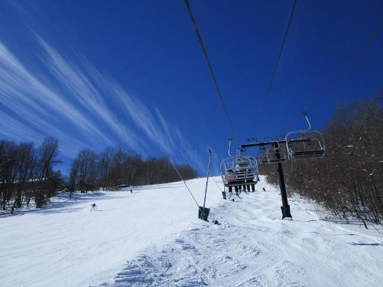 Wisp Resort Bluebird Day At Mountain