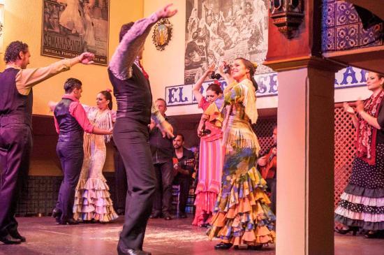 Flamenco Dancers Picture Of El Patio Sevillano Seville Tripadvisor