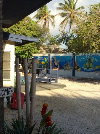 Aruba Bob's snorkel tours are part of the property