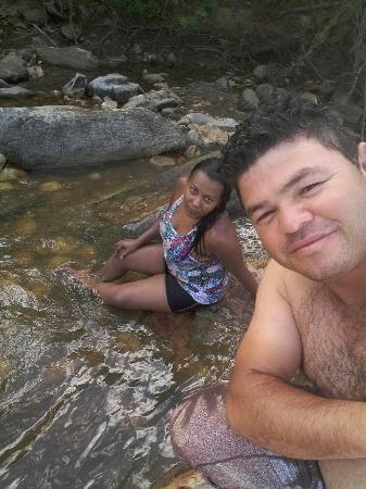 Amei a cachoeira de Anage