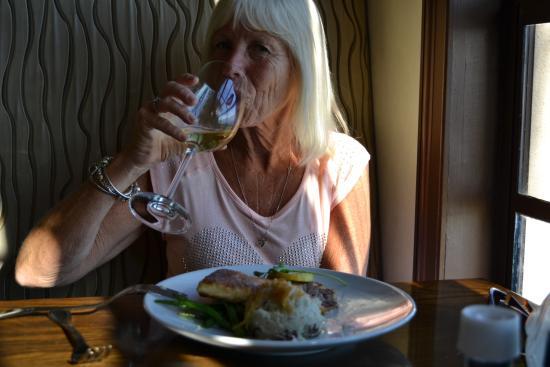 Sebring, FL: The lady's meal - Tilapia.
