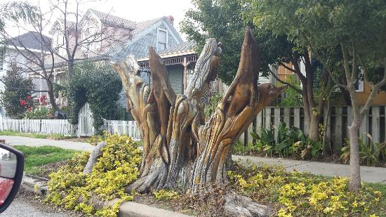 Large g picture of tree sculptures