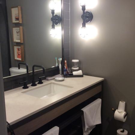 bathroom sink area bath with shower opposite picture of pier 2620 rh tripadvisor com