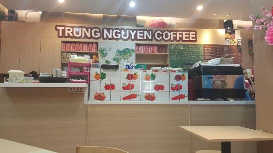 Trung Nguyen Cafe Chain