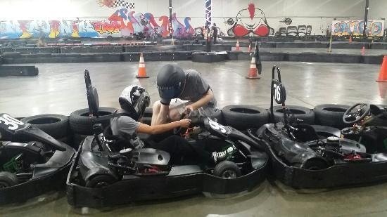 Umigo Indoor Go Karting & Event Center