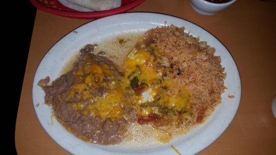Ordonez Mexican Restaurant Huevos Rancheros
