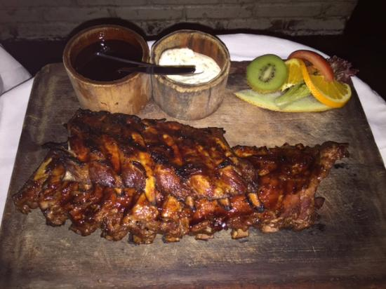 Gorgeous spare ribs Foto van Barbeque Castell, Amsterdam