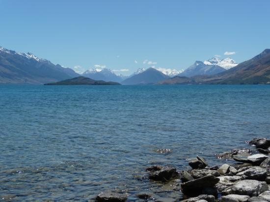 Queenstown, Nova Zelândia: On the road to Glenorchy