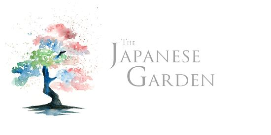 The Japanese Garden : Logo of our watercolour tree