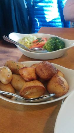 Holly Bush Inn: Fresh vegetables